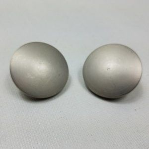 Pottery Barn Endcap Finial Set of 2  Pewter Finish